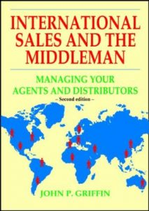 Image of book cover of International Sales and the Middleman by John Griffin