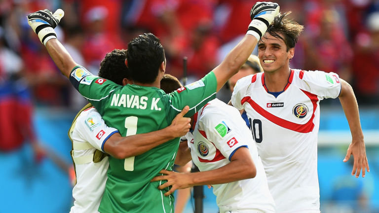 Teamwork - Costa Rica Football Team World Cup 2014