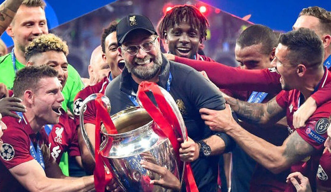 Image of Liverpool FC Celeberating Winning the Club World Cup in December 2019 ©BBC Sport