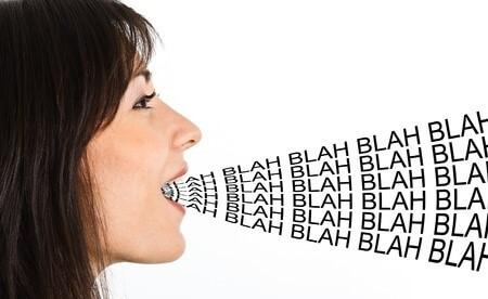 Too much blah blah in telesales
