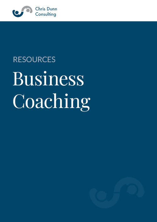 Business Coaching  Chris Dunn Consulting